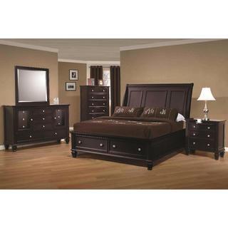 Nicholson 6-piece Cappuccino Bedroom Set