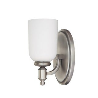 Capital Lighting Covington Collection 1-light Antique Nickel Wall Sconce