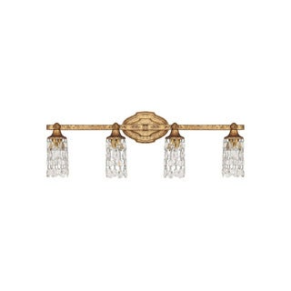 Capital Lighting Blakely Collection 4-light Antique Gold Bath/Vanity Light