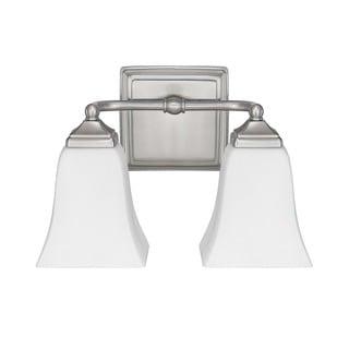 Capital Lighting Traditional 2-light Brushed Nickel Bath/Vanity Light
