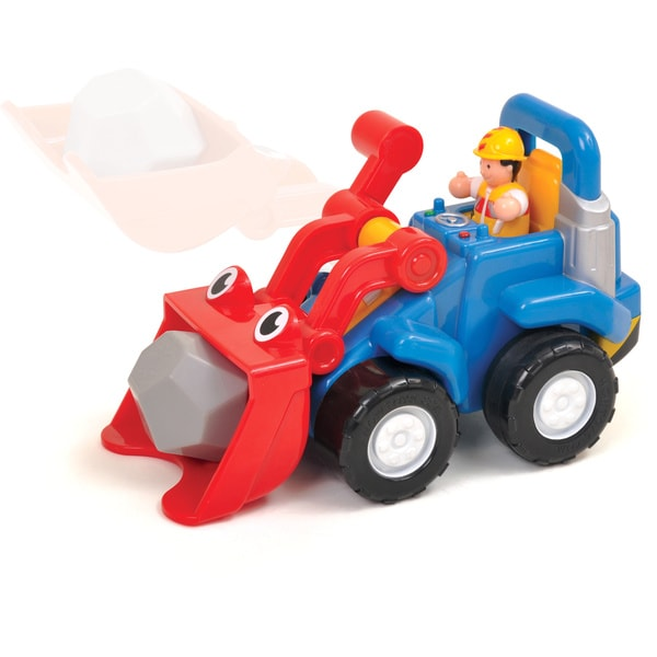 WOW Toys Lift-It-Luke Front End Loader Play Set