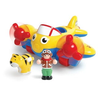 WOW Toys Johnny Jungle Plane Play Set