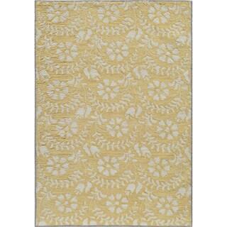 Momeni Havana Hand-Tufted Rug (2' X 3') (Option: Yellow (2'x3'))