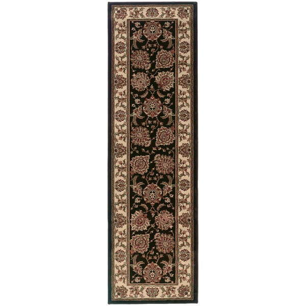 Shop Updated Old World Persian Flair Brown/ Ivory Rug (2'3
