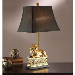 Golden Lion Table Lamp (Set of 2)