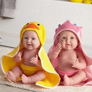 JC Toys Bubbles and Bath Twin Dolls