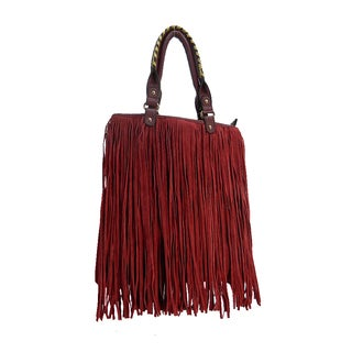 Tilly Faux Leather Fringe Purse