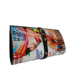 Marine Magazine Digital Color Print Clutch
