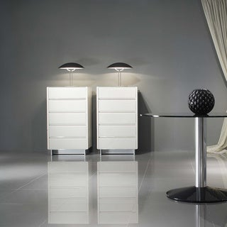 Vittoria White 5-drawer Dresser