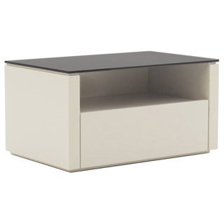 Innuo Beige 1-drawer Nightstand