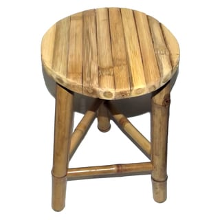 Set of 2 Bamboo Twin Stools (Vietnam)