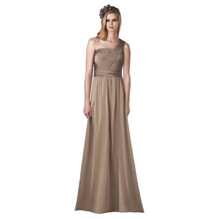 Bari Jay Fashions Women's Sleeveless Bronze Bridesmaid Dress