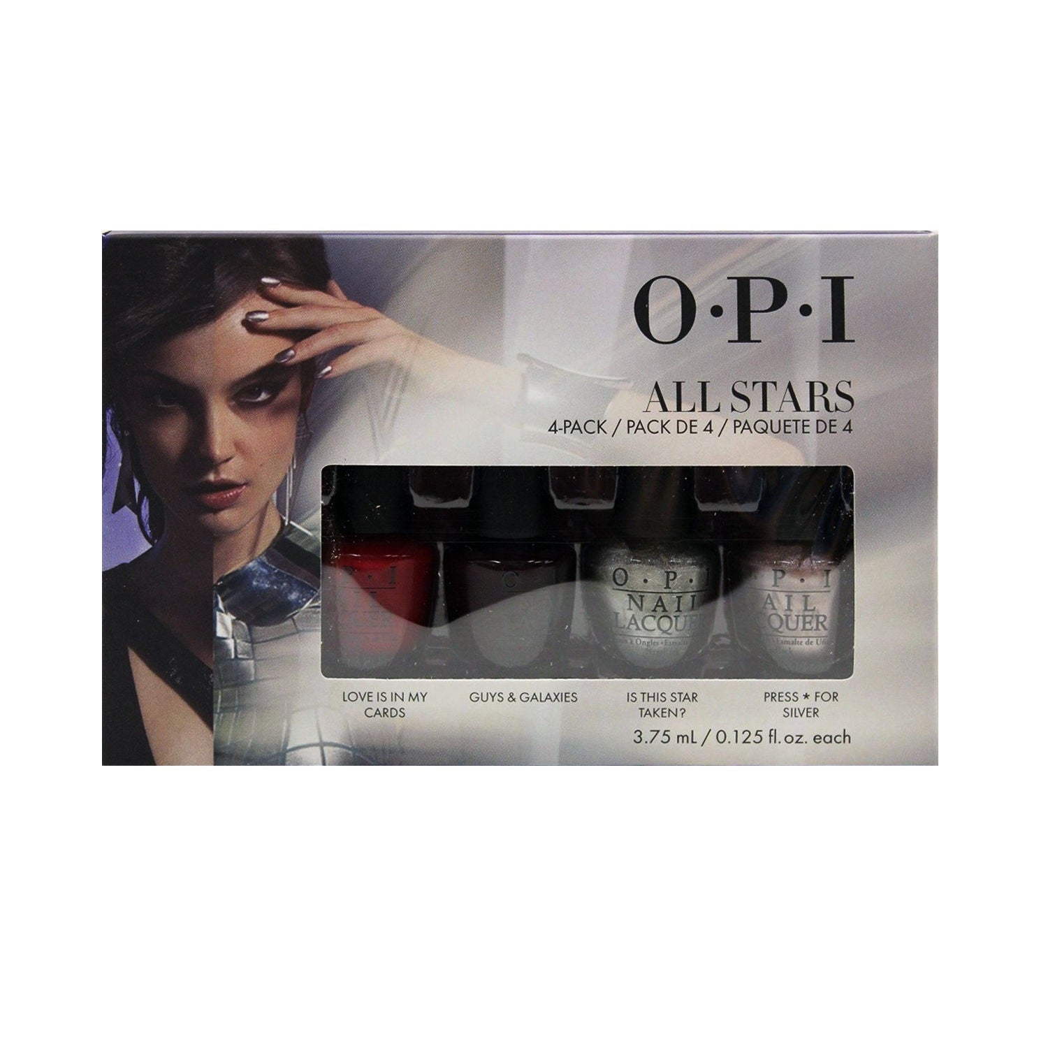 OPI 4-pack Mini All Stars (4 Pack), Grey