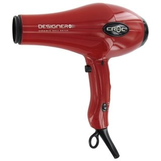 Croc Designer Red AC Hair Dryer