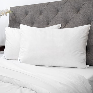 Sweet Home Collection Luxury Natural Feather Bed Pillows (Set of 2)