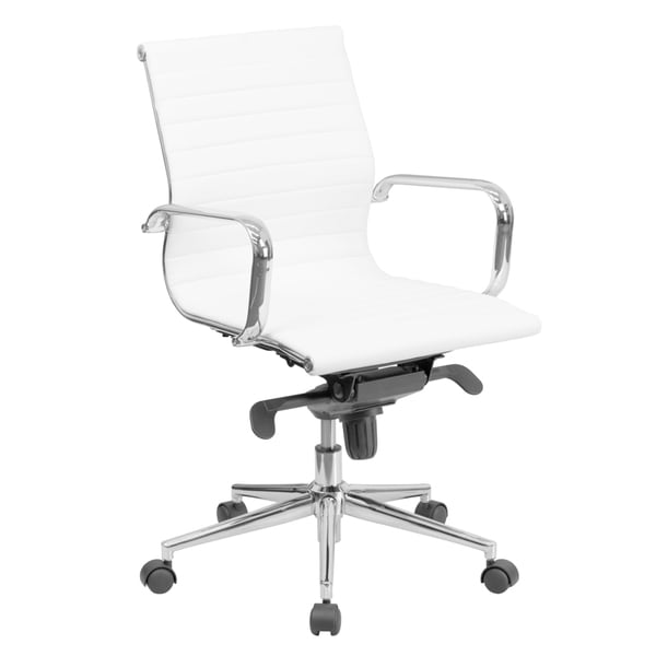 Overstock Office Furniture: Shop Mid-back Bonded Leather Office Chair