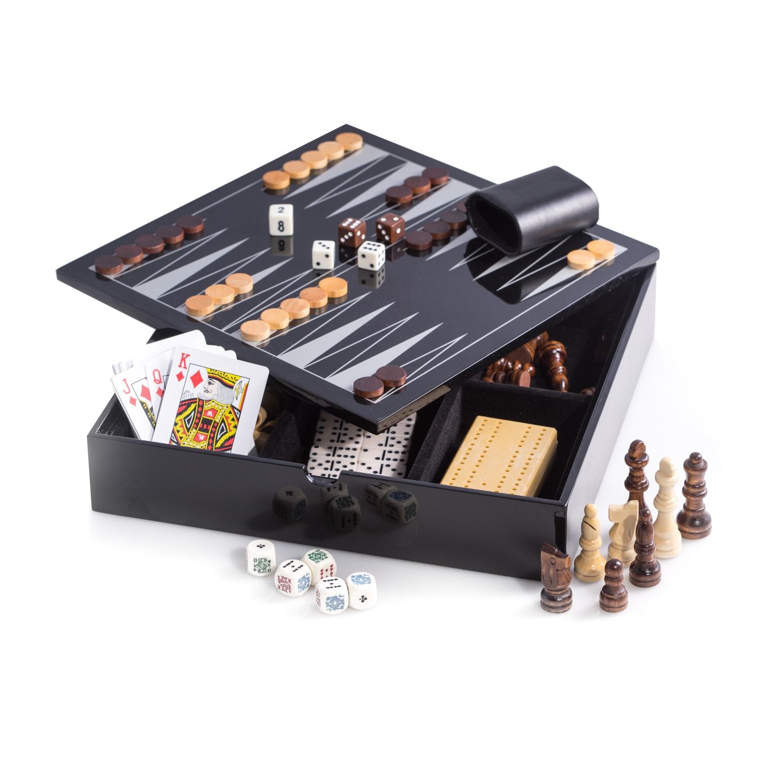 Bey Berk 'Felilx' High Lacquered Multi Game Set