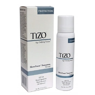 TIZO SheerFoam 3.5-ounce SPF 30 Tinted Sunscreen