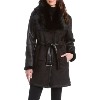 Alta Faux Shearling Coat