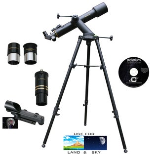 600mm x 90mm TRACKER Refractor Telescope Kit