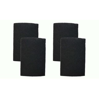 4pk Replacement Carbon Filters, Fits Holmes, Compatible with Part HAPF60 & HAPF60PDG