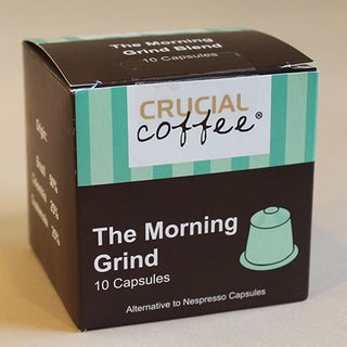 10pk The Morning Grind Blend Coffee Capsules, Fits Most Nespresso Machines