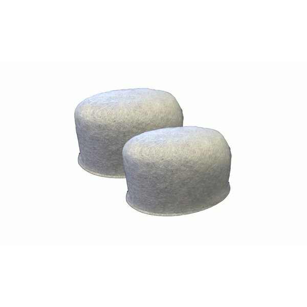 2pk Replacement Charcoal Water Filters, Fits Krups Calphalon Coffee Makers
