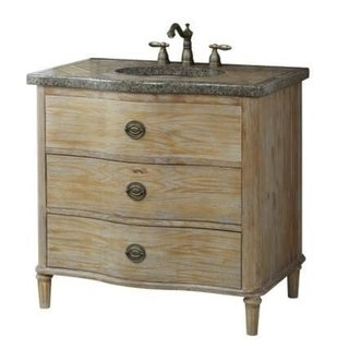 Crawford burke georgia vanity base with mosaic top and - Crawford and burke bathroom vanity ...