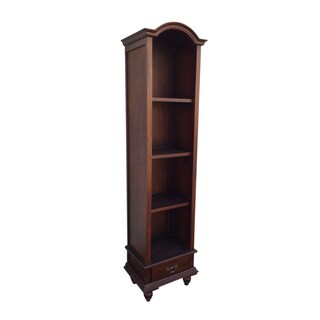 D-Art Collection Bonnet Top Bookcase - 2 Pcs Set