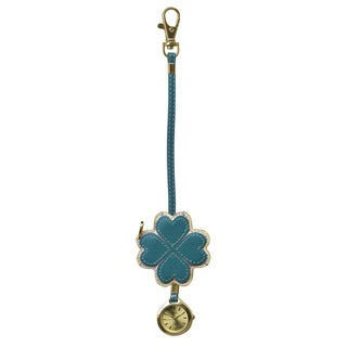 Dakota Moxie Teal Heart Hanging Purse Charm Clock