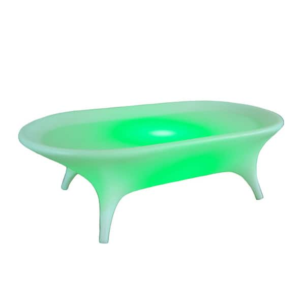 Wireless Flora Lighted Coffee Table