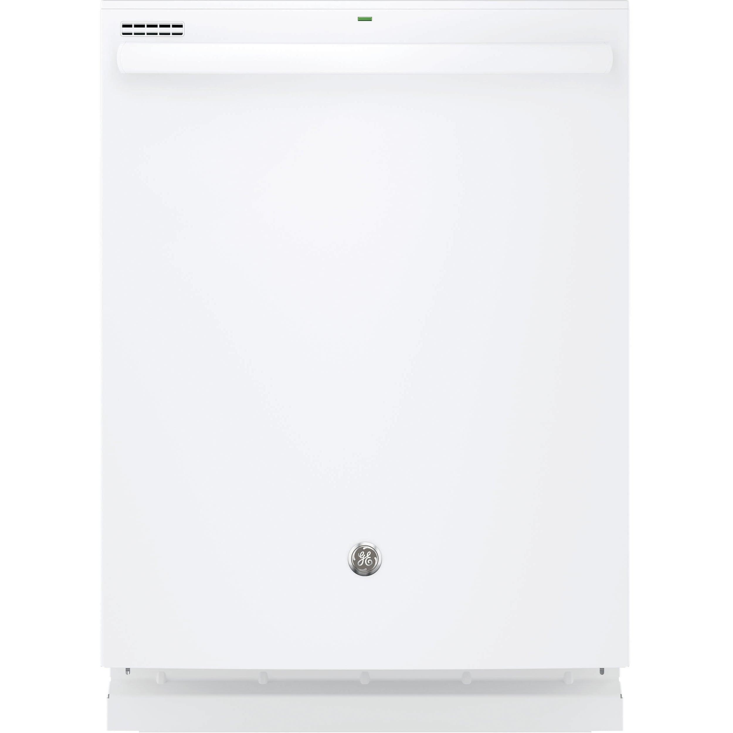GE Hybrid Stainless Steel Interior Dishwasher with Hidden...