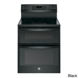 GE 30 IN Free Standing Electric Double Oven Convection Range in Stainless Steel