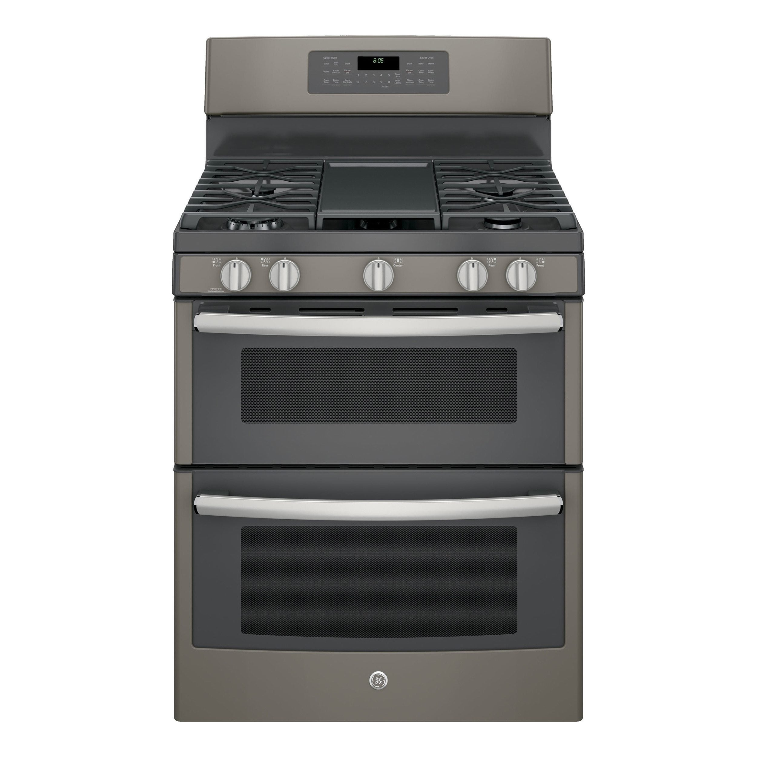 GE 30-inch Free-standing Gas Double Oven with Convection ...