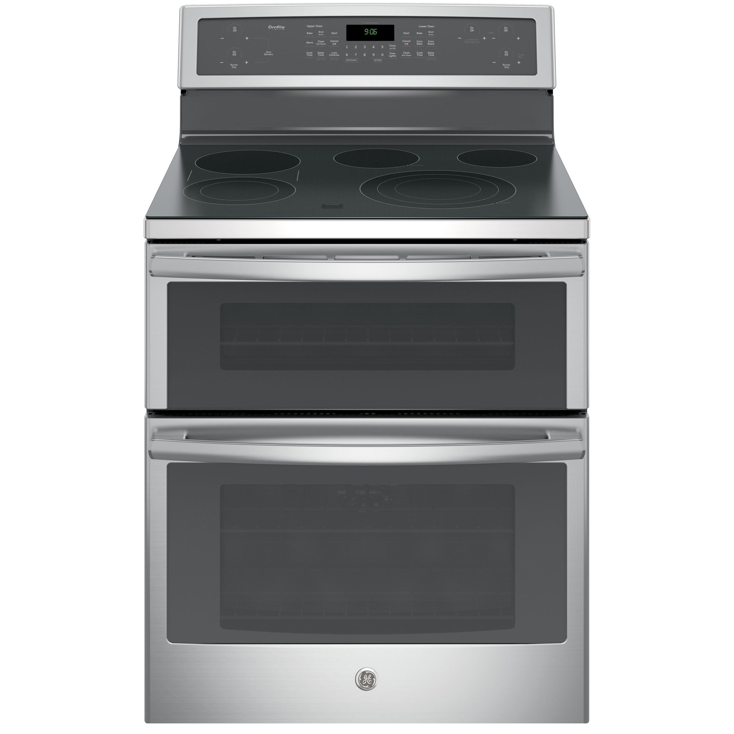 GE Black on Black Profile 30-inch Free-standing Electric ...