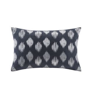 Ink+Ivy Nadia Dot Embroidered Cotton Oblong Pillow|https://ak1.ostkcdn.com/images/products/10620556/P17690736.jpg?impolicy=medium