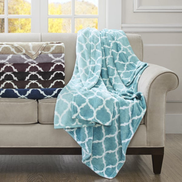 Madison Park Oversized Ogee Throw
