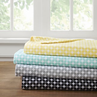 Intelligent Design Lita Printed Microfiber Sheet Set