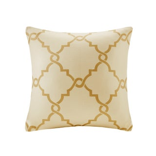 Clay Alder Home Denver Fretwork Print 20-inch Square Pillow with Zipper Closure