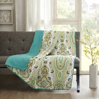 Intelligent Design Ellie Oversized Quilted Throw
