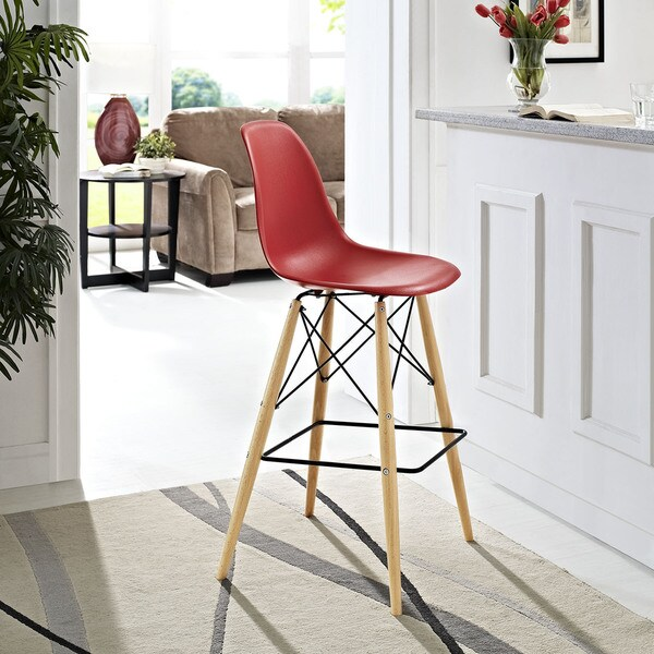 Shop Pyramid 29 5 Inch Bar Stool Free Shipping Today