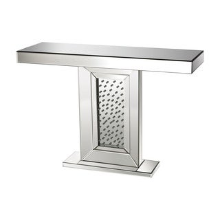 Sterling Jewel Inlay Console