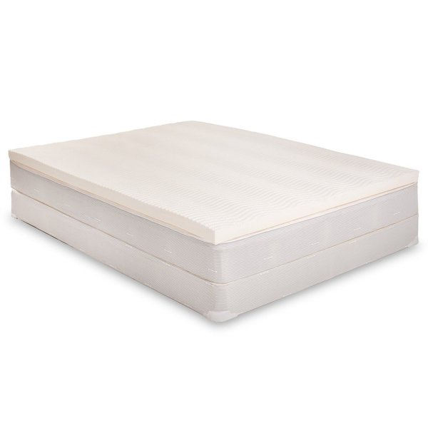 American 2 5 inch Breathable Latex Mattress Topper with