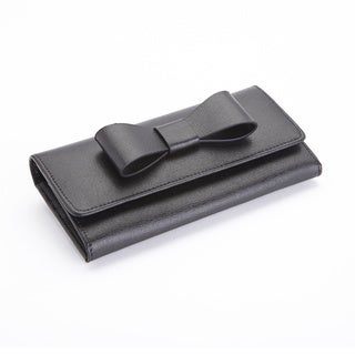 Royce Leather RFID Blocking Large Bow Wallet in Saffiano Leather (2 options available)