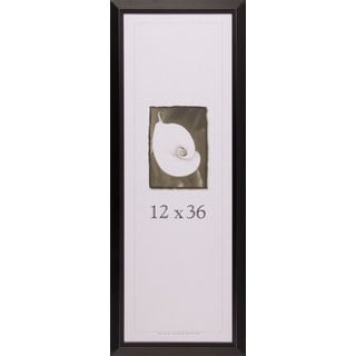 Narrow Black Picture Frame (12 inches x 36 inches)