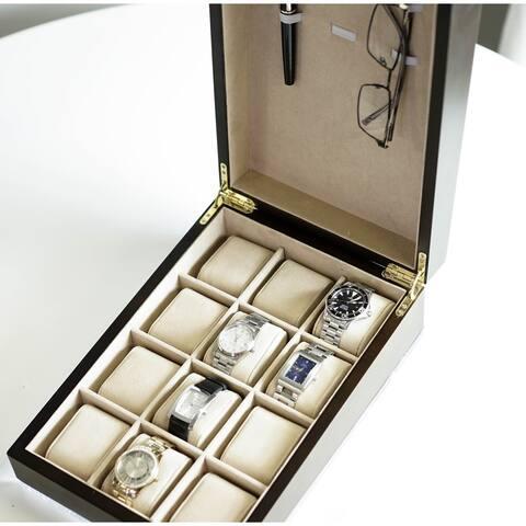 Hives & Honey 'Alexander' 12 Watch Slot Jewelry Box