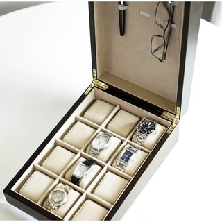 Hives & Honey 'Alexander' 12 Watch Slot Jewelry Box