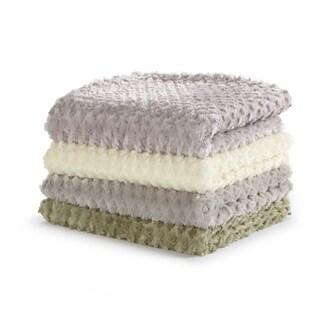 Home Fashion Designs Simone Collection Ultra Velvet Plush Luxury Sculpted Throw Blanket