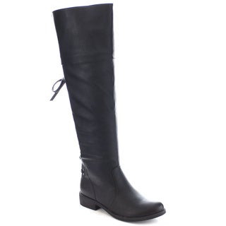 Machi Lily-2 Women's Hot Over the Knee High Lace Up Boots