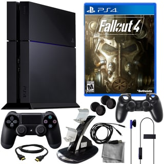 Playstation 4 500GB Bundle with Fallout 4 and 8 in 1 Kit